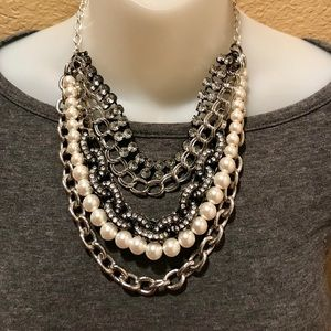 White House Black Market Multi Strand Necklace